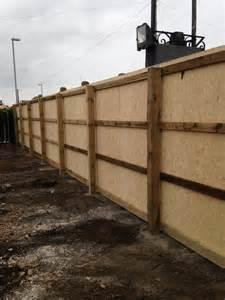 hoarding fencing